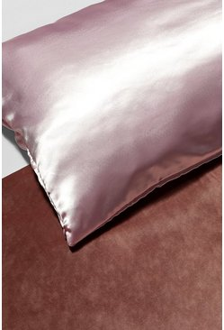Pink Satin Super Soft Hair Protect Pillowcase