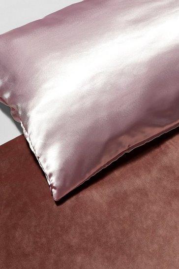 Pink Satin Super Soft Hair Protect Pillowcase