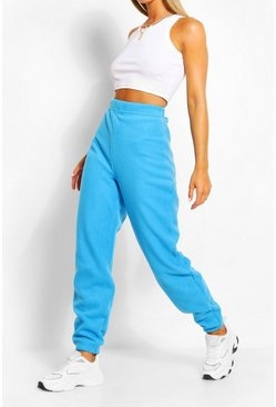 Blue Polar Fleece Joggers