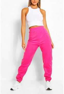 Hot pink pink Supersoft Fleece Sweat Joggers