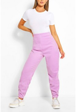 Lilac Polar Fleece Joggers