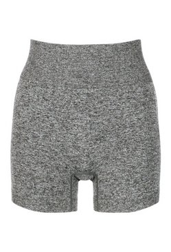 Dark grey Seamless Cycling Shorts