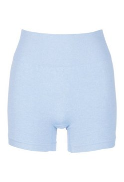 Light blue Seamless Cycling Shorts