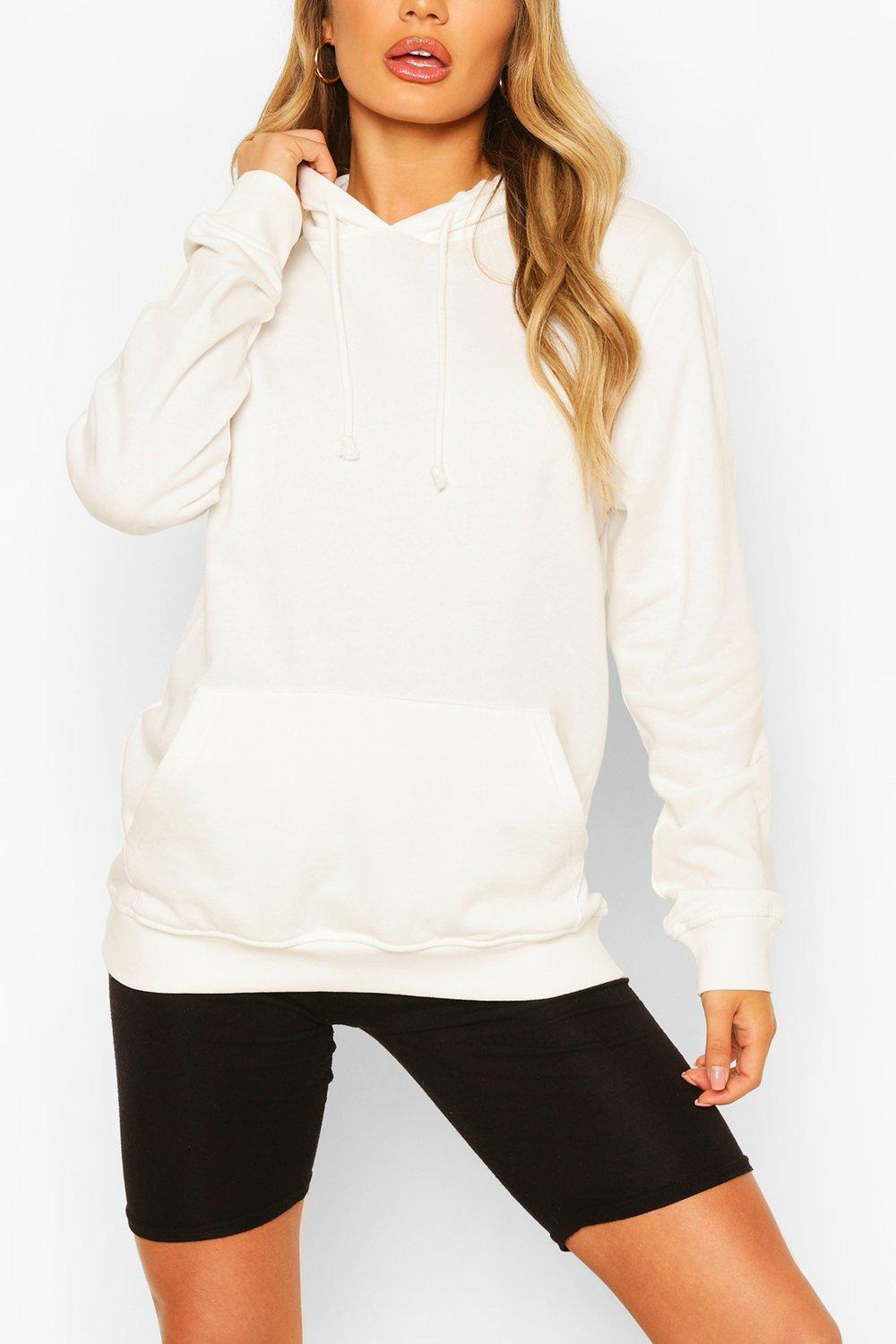 Sweat à capuche basique BF | boohoo