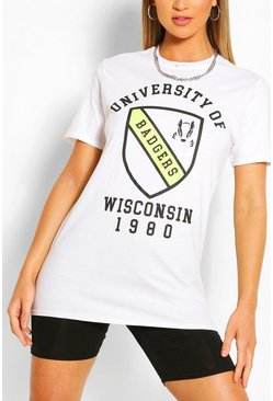 White University Collegiate T-Shirt