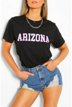 Black Arizona Collegiate T-Shirt