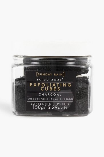 Black Sunday Rain Exfoliating Cubes Charcoal