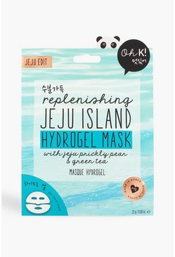 Blue Oh K! Jeju Lava Sea Water Hydrogel Mask