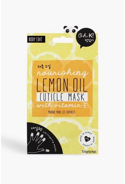 Yellow Oh K! Fingertip Cuticle Mask
