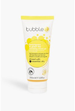 Yellow Bubble T Shower Gel Lemongrass & Green Tea