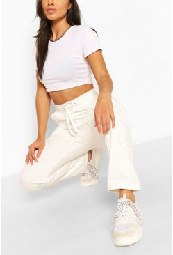 Ecru white Casual Sweat Jogger