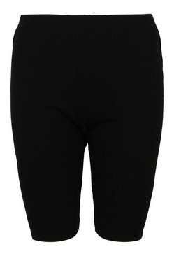 Black The Basic Longline Cycling Short