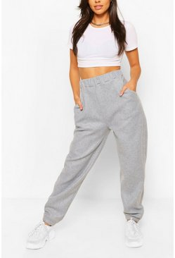 Grey marl grey Basic Loose Fit Jogger