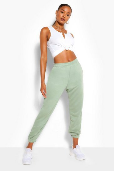 Sage Loopback Oversized Relaxed Joggers