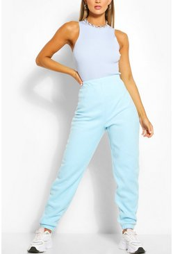 Baby blue blue Polar Fleece Joggers