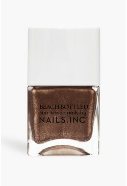 Nails Inc Nagellack Living for Tan Lines, Braun