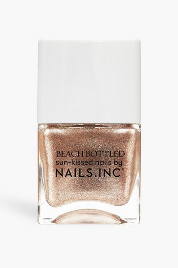 Rose gold metallic Nails Inc Polish Well Baked