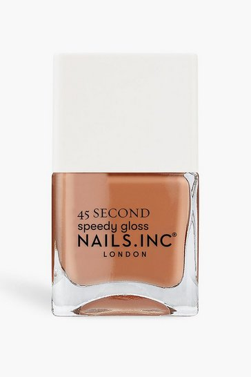Nude Nails Inc 45 Second Polish Hustle In Hackney