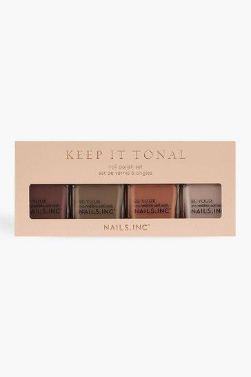Multi Nails Inc Quad Polish Keep It Tonal