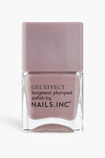 Mauve purple Nails Inc Gel Effect Polish - Porchester Sq