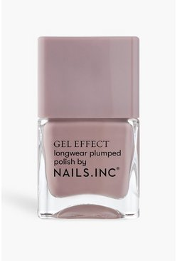 Mauve purple Nails Inc Gel Effect Polish - Porchester Sq