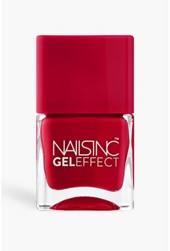 Red Nails Inc Gel Effect Polish - St James