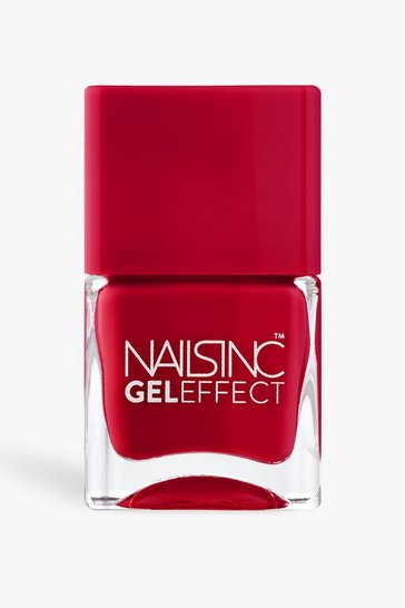 Red Nails Inc Gel Effect Polish - St James