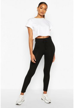 Black Everyday Jersey Legging