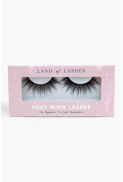 Black Land Of Lashes Faux Mink - Captivate
