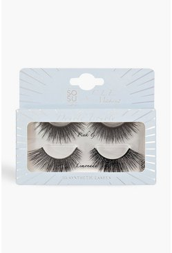Blue SOSU x CLE 2 Pack Lash - Double Trouble