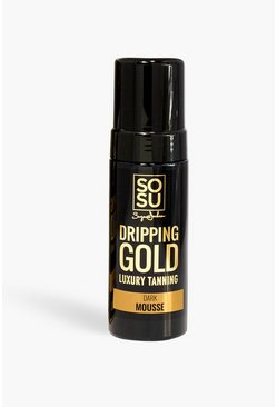 Mousse scura Dripping Gold SOSU, Nero
