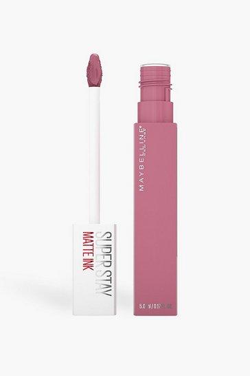 Pink Maybelline Superstay Lipstick 180Revolutionary