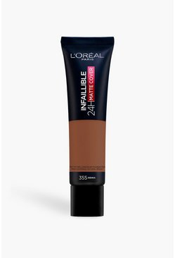 Brown brun L'Oreal Paris Infallible Foundation 355