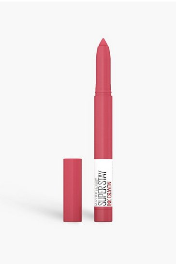 Pink Maybelline Superstay Crayon Change Is Good