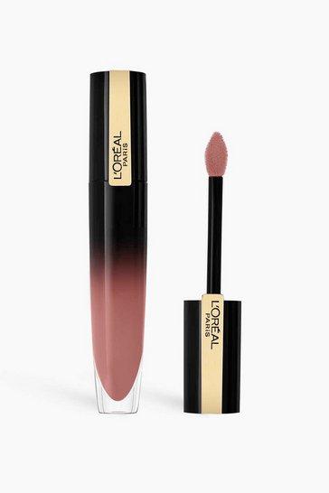 Mauve purple L'Oreal Paris Lip Ink 303 Be Determined