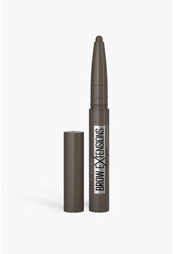 Bruin brown Maybelline Brow Extensions 07 Black Brown