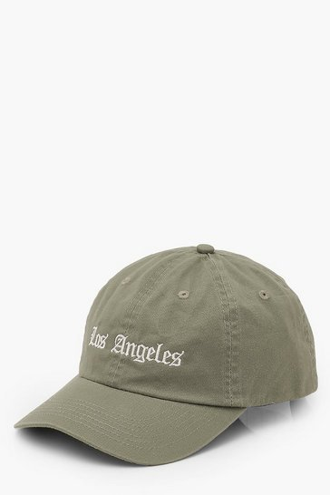 Sage green Los Angeles Slogan Cap
