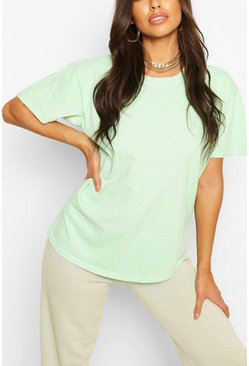 Apple green Washed Oversized T-Shirt