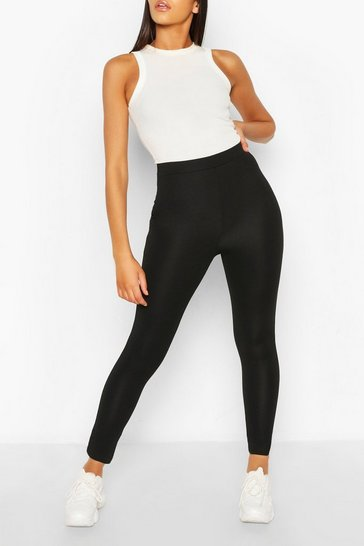 Black Recycled Shape Legging
