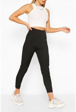 Black Rib Legging