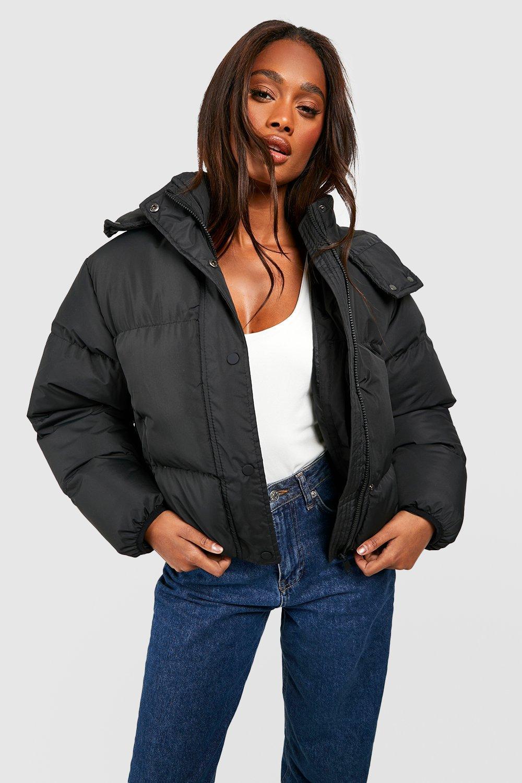COATS & JACKETS Hooded Padded Jacket