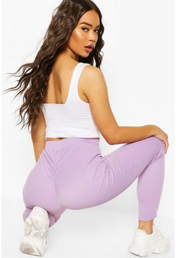 Lilac Booty Enhancing Ribbed Legging
