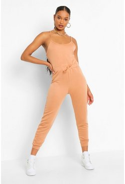 Lichtblauw blue 2-In-1 Hemd En Joggingbroek Jumpsuit