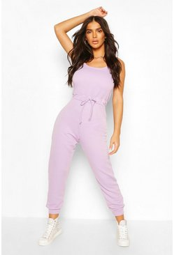 Lilac purple 2 in 1 Cami Top & Jogger Jumpsuit