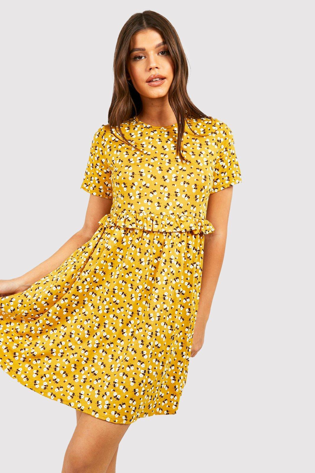 DRESSES Ditsy Floral Smock Dress