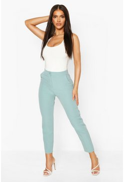 Turquoise blue Tailored Pants
