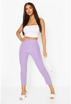 Lilac purple Tailored Trouser