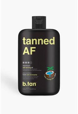 Black B.Tan Tanned AF Tanning Oil