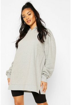 Grey marl Extreme Oversized Hoodie