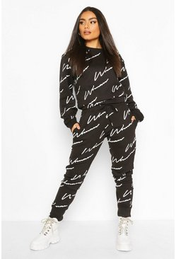 Black Woman Signature Sweater Tracksuit